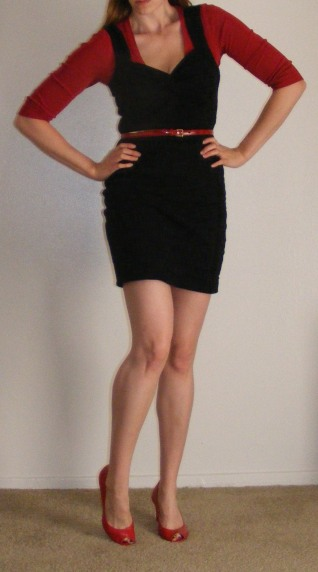 LBD & Red Accents